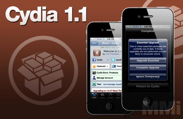 JB Update: Ny Cydia 1.1 er udgivet til din Jailbreaked enhed.