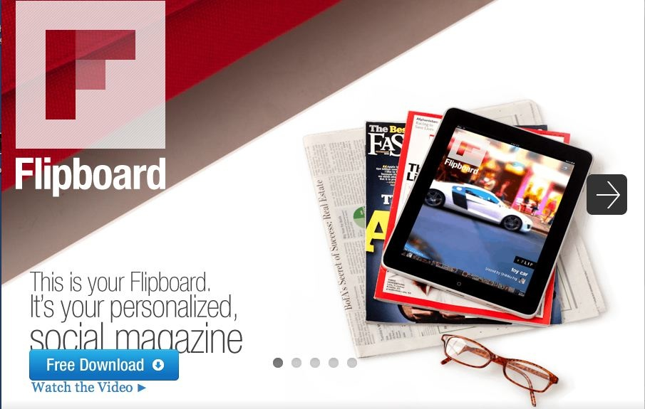 En lækker App: Flipboard for iPad og iPhone!