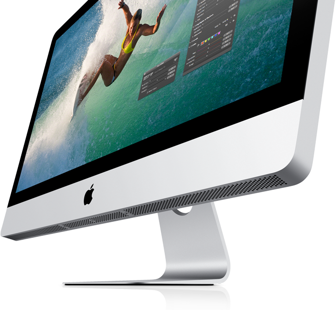 Ny Superhurtig iMac med quad-core-processorer og FaceTime HD-Kamera!